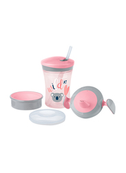 Nuk Learn to Drink Set for Girl, Pink