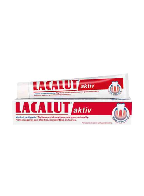 Lacalut Aktiv Toothpaste, 75ml