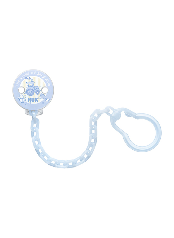 Nuk Soother Chain, Baby Blue