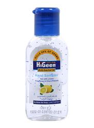 HiGeen Lemon Hand Sanitizer, Blue, 50ml