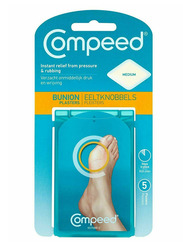 Compeed Bunion Plasters Medium Size, 5 Strips