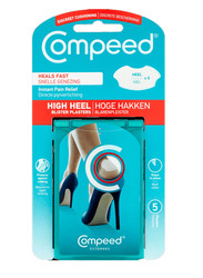 Compeed High Heel Blister Plasters, 5 Strips