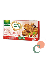 Gullon Cuor Di Cereale Hazelnut Sandwich Biscuits With Oat and Chocolate Chips, 220g