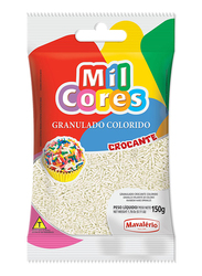 Mavalerio Mil Cores White Hard Sprinkles, 150g