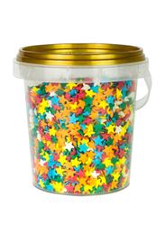 DeliketPremium Quality Star Shaped Sprinkles, 80g