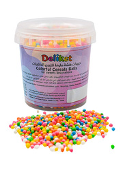 DeliketColorful Cereal Sprinkles Balls for Decorative Sweets, 90g