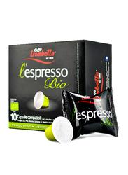 Caffe Trombetta L'Espresso Bio Coffee, 10 Capsules, 55g