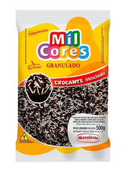Mavalerio Mil Cores Brown and Cream Chocolate Flavored Sprinkles, 500g