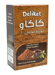 Deliket100% Pure Cacao Powder, 200g