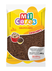 Mavalerio Mil Cores Hard Chocolate Flavored Flakes Bakery and Cupcake Decorating, 500g