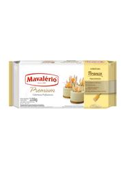 Mavalerio Premium White Chocolate Compound Coating, 1.01 Kg