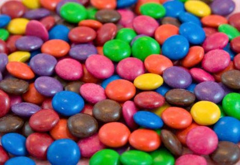 Jazam Coloreti Granuleti Colorful Chocolate Mini Lentils, 250g
