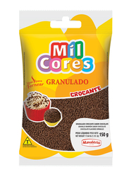 Mavalerio Mil Cores Hard Chocolate Flavored Flakes Bakery and Cupcake Decorating, 150g