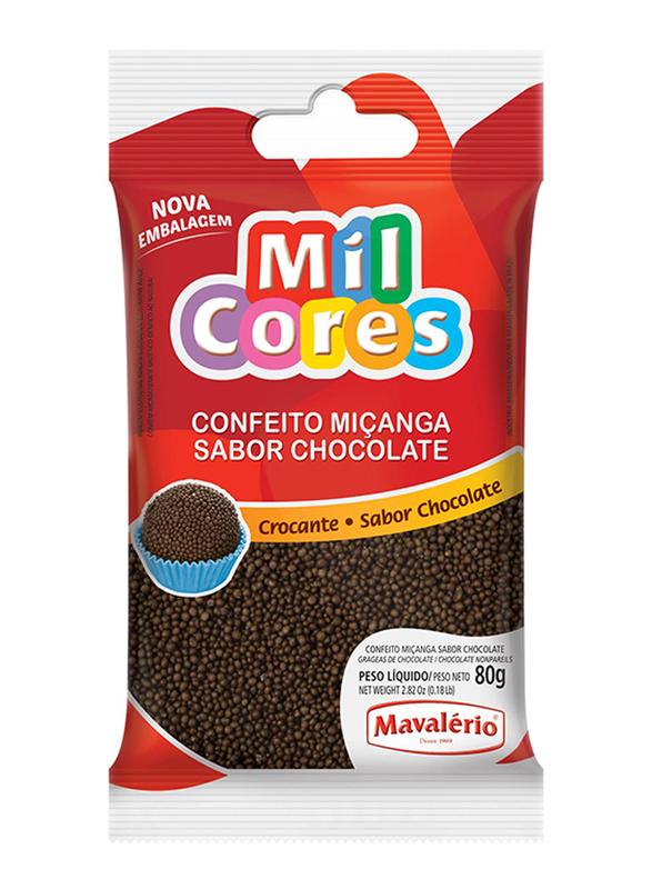 Mavalerio Mil Cores Chocolate Non Pareils, 80g