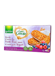 Gullon Cuor Di Cereale Yogurt Flavored Cream Sandwich Biscuits With Oat and Red Fruits, 220g