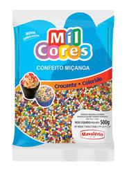 Mavalerio Mil Cores Rainbow Non Pareils Food Decorative, 500g