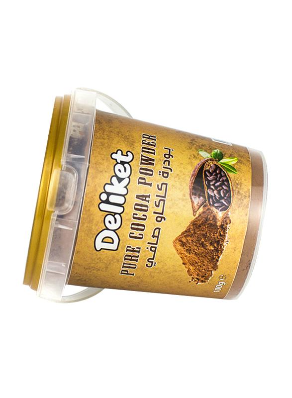 DeliketPremium Quality Pure Cocoa Powder, 100g