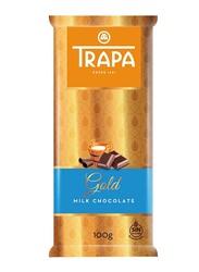 Trapa Gold Milk Chocolate Bar, 100g
