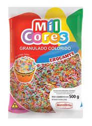 Mavalerio Mil Cores Rainbow Hard Sprinkles, 500g