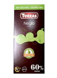 Torras Sugar Free Dark Chocolate Tablet Bar, 100g