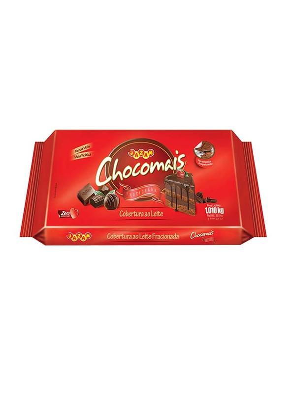 Jazam Chocomais Top Milk Chocolate Block, 1.01 Kg