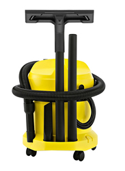 Karcher WD2 Wet & Dry Vacuum Cleaner, 12L, Yellow/Black