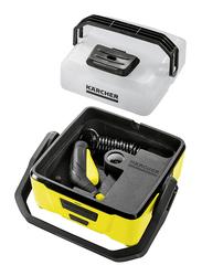 Karcher OC 3 + Adventure Portable Pressure Washer, Yellow/Black