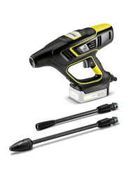 Karcher KHB 5 Battery Handheld Pressure Washer Cleaner, Black/Yellow