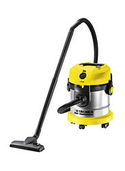 Karcher 1800W Dry Vacuums, 20L, VC 1800 SA, Yellow/Sliver/Black