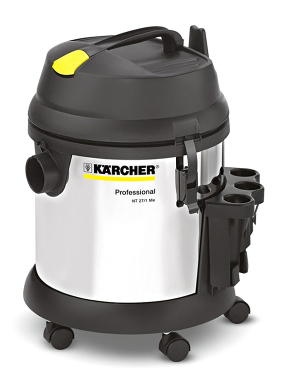 Karcher NT 27/1 Me Wet and Dry Vacuum Cleaner, Grey/Silver