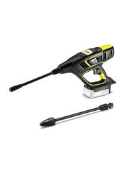 Karcher KHB 5 Battery Handheld Pressure Washer Cleaner, Black/Yellow