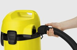 Karcher 1000W Wet & Dry Vacuum Cleaner, 17L, WD 3, Yellow