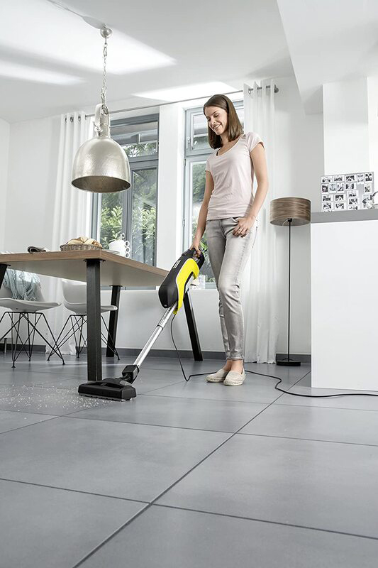 Karcher VC 5 Upright Vacuum Cleaner, Yellow/Black