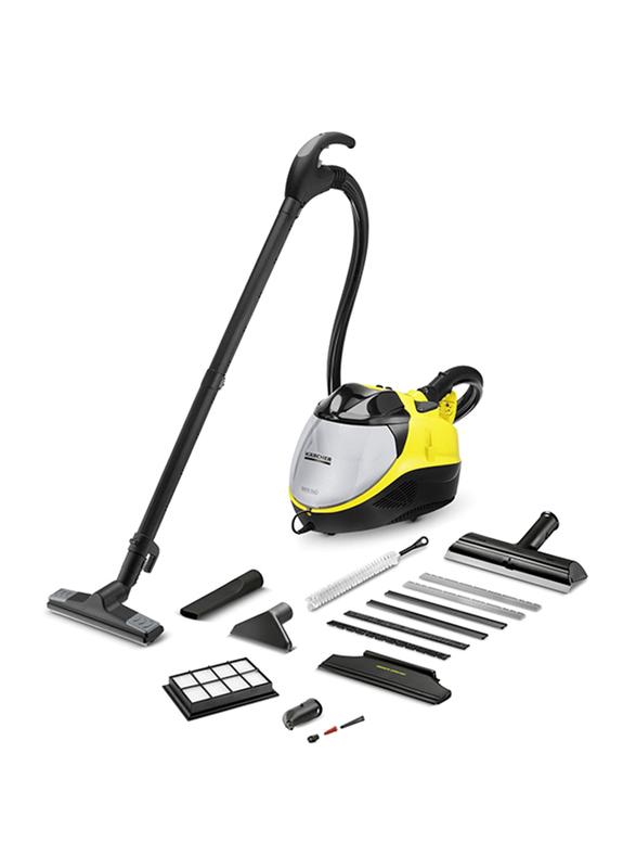 Karcher SV 7 Steam Vacuum Cleaner, 1.439-4200, Yellow/Black