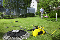 Karcher BP 3 Home & Garden Pump, Yellow/Black