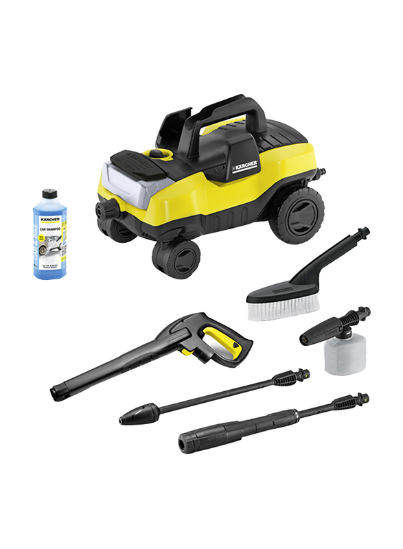 Karcher K 3 Follow Me Pressure Washer, Yellow/Black