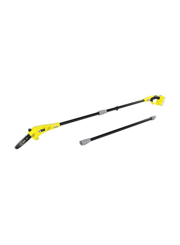 Karcher PSW 18-20 Battery Pole Saw, Black/Yellow