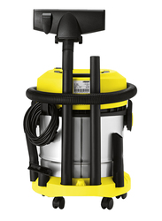 Karcher 1800W Dry Vacuums, 20L, VC 1800 SA, Yellow/Sliver/Black