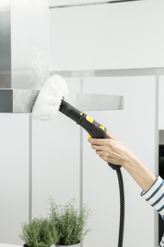 Karcher SC 2 Deluxe EasyFix Steam Cleaner, Yellow/Black