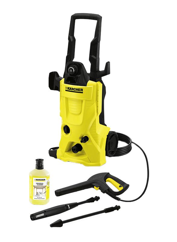 Karcher 1800W High Pressure Washer, K 4 GB, Yellow/Black