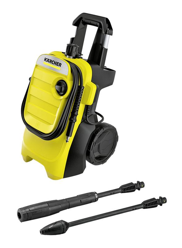 Karcher 1800W High Pressure Washer, K 4 Compact GB, Yellow/Black