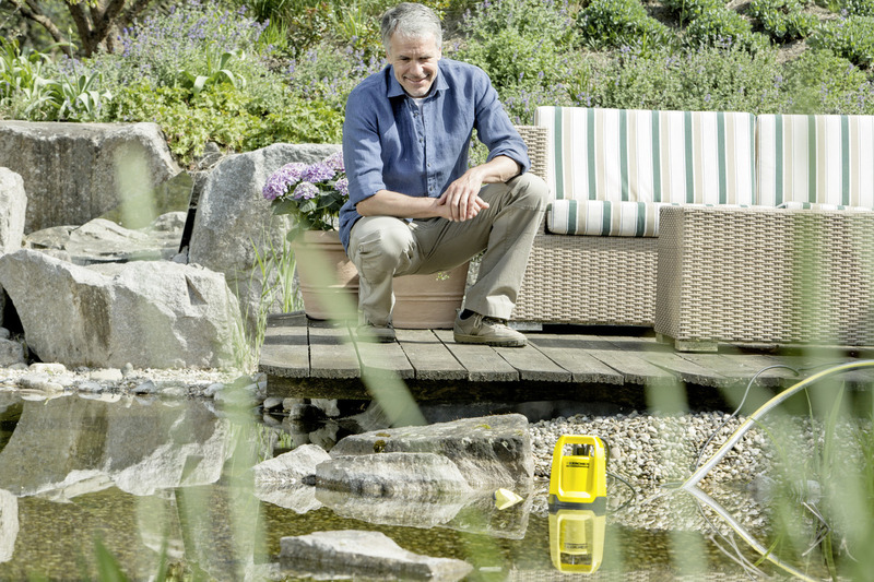 Karcher 500W Submersible Dirty Water Pump, SP 5 Dirt GB, Yellow/Black