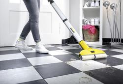Karcher FC 3 Cordless Hard Floor Cleaner, Yellow