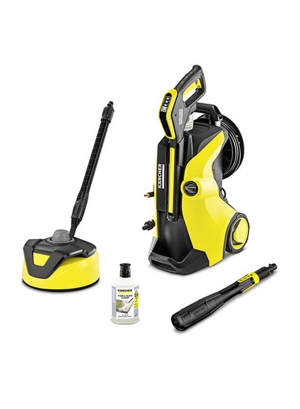 Karcher K7 Premium Full Control Plus Home High Pressure Washer, Yellow/Black