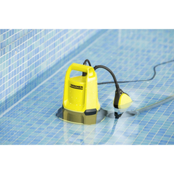 Karcher SP 2 Flat Submersible Dirty Water Pump, 250W, Yellow/Black