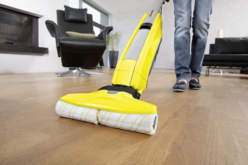 Karcher 460W Wet & Dry Vacuum Cleaner, 0.6L, FC 5, Yellow/Black