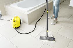 Karcher SC 3 EasyFix Steam Cleaner, Yellow/Black