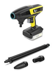 Karcher KHB 6 Battery Handheld Pressure Washer Cleaner, Black/Yellow