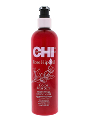 CHI Rosehip Oil 2 in 1 Protecting Conditioner for Coloured Hair, 340ml