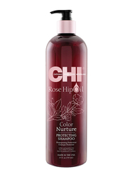 CHI Rosehip Oil Protecting Shampoo for Coloured Hair, 739ml